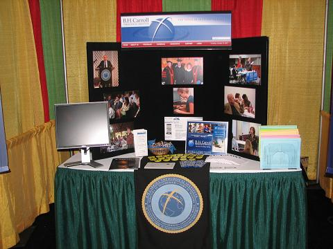 BHCTI promotional booth at the BGCT annual meeting